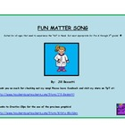 FREEBIE:  Fun Matter Song:  Science Songs