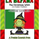 FREEBIE! La Befana (A Christmas Tale from Italy) Literacy