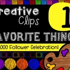 FREEBIE! My Favorite Things #1 {Creative Clips Digital Clipart}