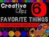 FREEBIE! My Favorite Things #6 {Creative Clips Digital Clipart}