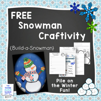 FREEBIE Pile on the Winter Fun! Snowman Craft with Writing Activities