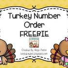 FREEBIE Turkey Number Order