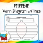FREEBIE Venn Diagram w/lines
