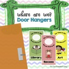 FREEBIE {Where We Are} Hanging Door Tags