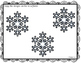FREEBIE!  Winter Wonderland Playdough Mats