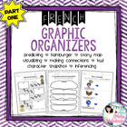 FRENCH Graphic Organizer Bundle / Fiches Utiles