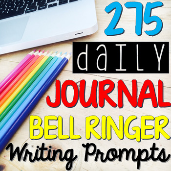 FULL YEAR of English Journal Writing Prompts (Grades 5-10)