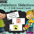 FUNdations A - Z Letter Keyword Sound Drill Slideshow FREEBIE