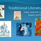 Fabels Folktales Legends and Myths Powerpoint