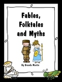 Fables, Folktales, and Myths Unit