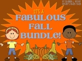 Fabulous Fall Bundle! (Fall, Thanksgiving, Veterans Day, a