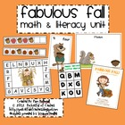 Fabulous Fall Math & Literacy Work Stations