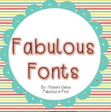 Fabulous Fonts: Funky Fonts for Personal and Commercial Use