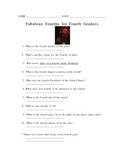 Fabulous Fourths for Fourth Graders