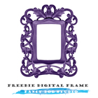 Fabulous Purple Frame Freebie