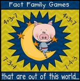 Fact Families Math Centers (Go Math! / Common Core aligned)