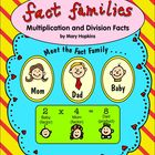 Fact Families - Multiplication & Division Facts - Common C