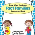 Fact Family Book - Show What You Know