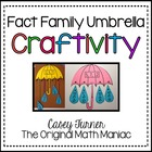 Fact Family Umbrella Craftivity
