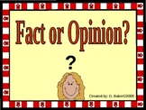 Fact and Opinion Practice Power Point Presentation