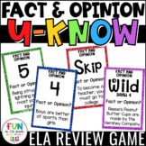Fact and Opinion U-Know Game!!! (Played like UNO)