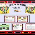 Fact or Opinion Smartboard Lesson/Activity Grades 3-5
