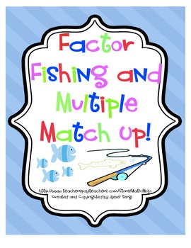 Factor Fishing and Multiple Match Up