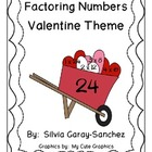 Factoring Numbers: Valentine Theme