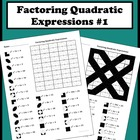 Factoring Quadratic Expressions Color Worksheet #1
