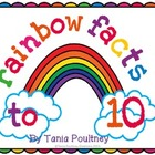 Facts to 10 Rainbow game