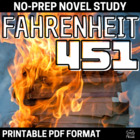 Fahrenheit 451 Literature Guide: Common Core Aligned Teach