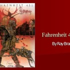 Fahrenheit 451 Novel Information power point PPT