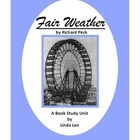 Fair Weather by Richard Peck: A Book Study Unit