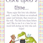 Fairy Tale Alphabet Word Wall Posters