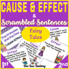 Cause & Effect + Scrambled Sentences, 1st-3rd Grades, Fair