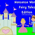 Fairy Tales Nonsense Words