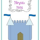 Fairytale Menu