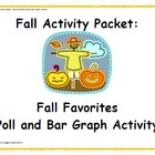 Fall Activity Pack - Autumn Poll and Bar Graphing Activity