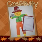 Fall Autumn Scarecrow Writing Craftivity