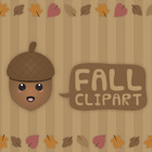 Fall - Autumn clip art set