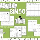 Fall Bingo and Memory/Matching Game