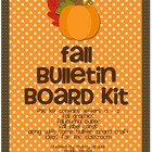 Fall Bulletin Board Kit for Teachers