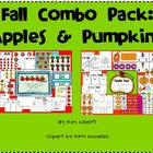 Fall Combo Pack: Apples and Pumpkins