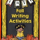 Fall Writing Activities