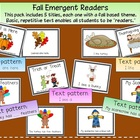 Fall Emergent Readers Pack