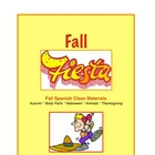 Fall Fiesta: Spanish Fall, Halloween, & Thanksgiving Materials
