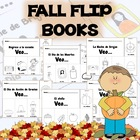 Fall Flip Books in Spanish