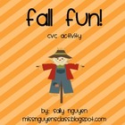 Fall Fun- CVC Activity