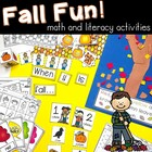 Fall Fun!  Math and Literacy Activities for the Classroom