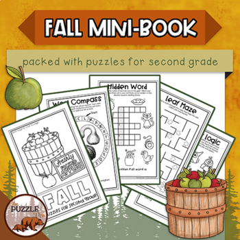 http://www.teacherspayteachers.com/Product/Fall-Fun-Mini-Book-of-Puzzles-for-Second-Graders-1452624